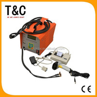 welding machinery price from 0mm to 315mm cheap electrofusion pe plastic pipe hot melt welding machine