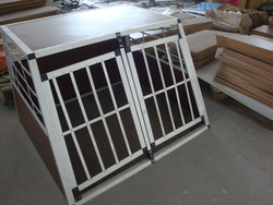 DOUBLE DOORS dog cage