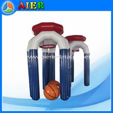 Indoor inflatable basketball hoop game