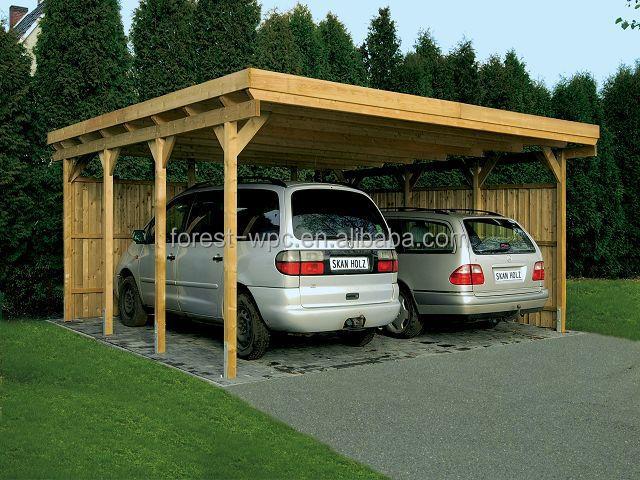 P rgola de madeira gazebo de madeira pl stica wpc p rgola - Pergola para coche ...