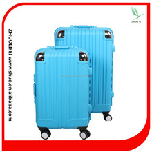 ABS bright color lightweight hard shell trolley luggage/travel bag for kids &girls