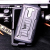 heavy duty belt clip Holster case for LG G3 with stand and clip