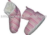 Indoor Slipper , Boot Filled with Down & Feather , Warm Boot