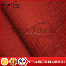 100%polyester knitted brushed stripe embossed sofa fabric