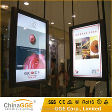 Easy installation outdoor LED light box signs frame