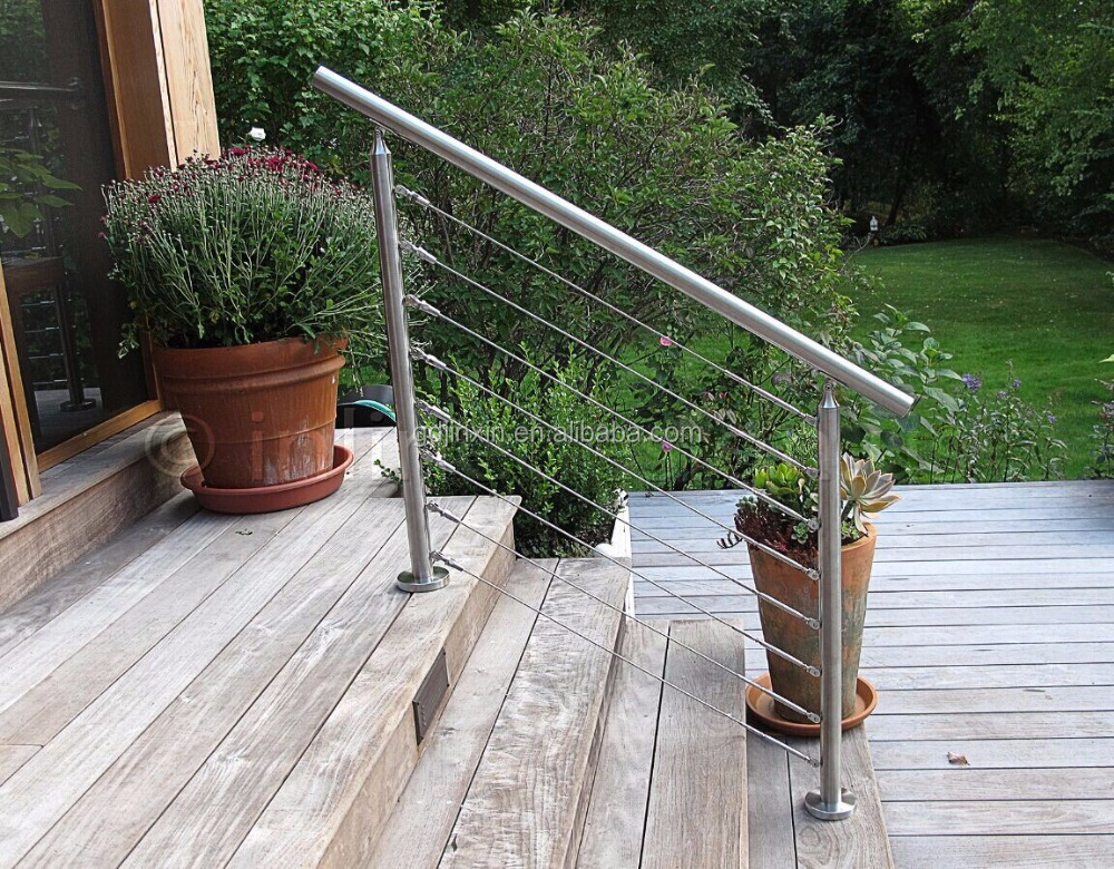 Stainless steel outdoor balcony guard rail buy