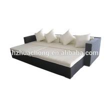 HC-J001 mayorista cubo ratán barato muebles de jardín