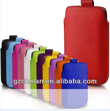 High quality PU Leather Pouch for iphone 5s 5