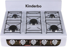 JK-005HHC Europe style desktop gas range 5 burner gas range