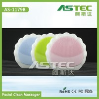 wholesale china import portable rotary facial cleaning brush