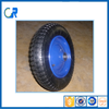 Top sale durable bearing single pneumatic wheel with powder coated rim 3.50-8