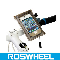 Mobile Phone Waterproof Bike Bicycle Handlebar Case Bag for iPhone 4 4s 11601 insulated bicycle cooler bag