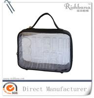 reseable cosmetic case pvc gift bag packing bag plastic bag