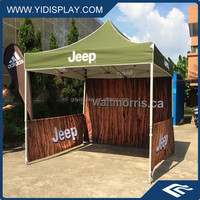 Advertising automatic pop up tent for event