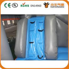 Latest product fine quality inflatable castle moonwalk with panel for promotion