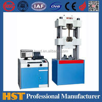WAW-600D Pipe Hydraulic Pressure Test Equipment/Computerized Hydraulic Universal Testing Machine