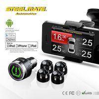 2015 Steelmate TPMS-8886 car wireless DIY TPMS 2015 pajero,price of pressure indicator,automobile