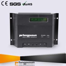 PV panel solar system intelligent pwm solar charge controller 12v 24v 40amp