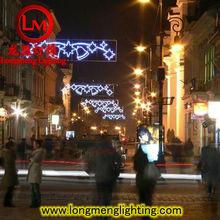 2015 new outdoor christmas festival lighting hanging street lamp motif lights