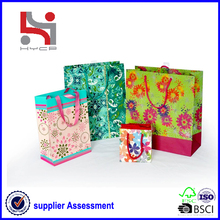 Dongguan factory Haiying oem eco packaging carry tote paper fancy felt shopping bag
