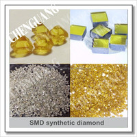 HTHP Monocrystalline rough diamond with high hardness good for Industrial field