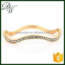2012 Gold Chain Cuff bracelet 925 sterling silver tennis bracelet, stainless steel bracelet parts