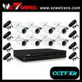 wetrans CFTV kit-5208b 8ch câmera de segurança do escritório rede dvr kit