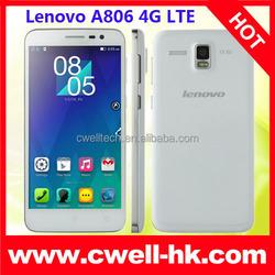 Lenovo A806 Octa Core 4G LTE Smartphone 5 Inch HD Screen Android 4.4 Mobile Phone