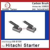 Hitachi starter motor brushes replacement(WAI 68-8109)