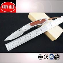 Pocket Type Beautiful damascus folding knife
