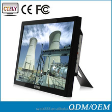 """19"""" high quality LCD industrial monitor with touch screen panel"""
