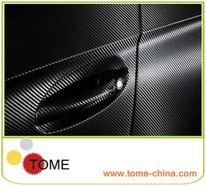 заводе гуанчжоу черно 3d углеродного волокна виниловые наклейки автомобиль