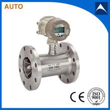 4-20ma trubine flowmeter measure high temperature medium
