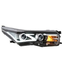 12V LED headlight for TOYOTA corolla middle east&taiwan 2014 hot sell fashion