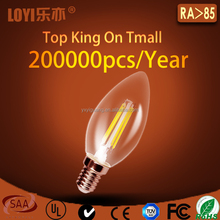 C35 dimmable led candle bulb most cost effective in China