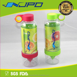 Fresh Summer Style Outdoor Recycled 850ml Lemon & Orange Infused Water Bottle