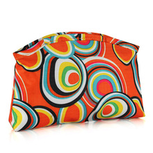 casual zipper brush cosmetic bag
