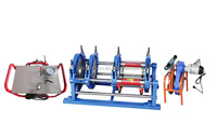 SUD63-250mm Hydraulic docking hdpe butt welding machine