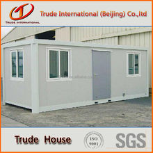 container house with bathroom