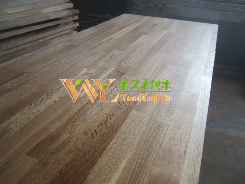 Solid oak panel finger joint boards