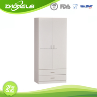 Sample Available Brand New Design SEDEX Approved Factory Price Bedroom Wall Wardrobe Design