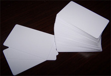 Blank employee ID 125khz TK4100 proximity plastic RIFD cards