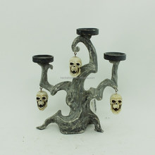 High Quality Hand made Wholesale Resin Skull Candle Holder