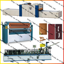 wood mdf production line/hot laminating machine/Door edge wrapping machine (scale gluing)