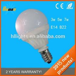 g45 led bulbs lamp AC/DC10-30V SMD2835 high power dimmable 5w 2700K