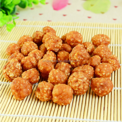 mixed dog food chicken rice ball for pet snack