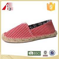 hot selling fashionable canvas catalane espadrilles sneakers
