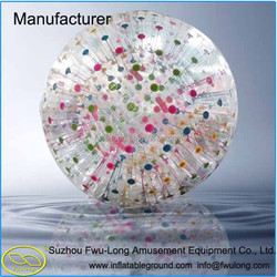 China made exclusive safety grass zorbing ball,zorb ball for bowling