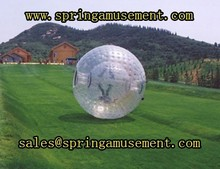 hot salling interesting outdoor game Grass rolling balls or zorb ball SP-ZB013