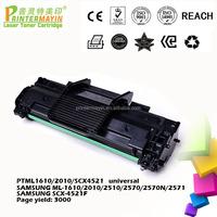 ML1610/2010/SCX4521 universal Laser Printer Toner Cartridges FOR SAMSUNG ML-1610 / 2010 / 2510 (PTML1610/2010/SCX4521 universal)